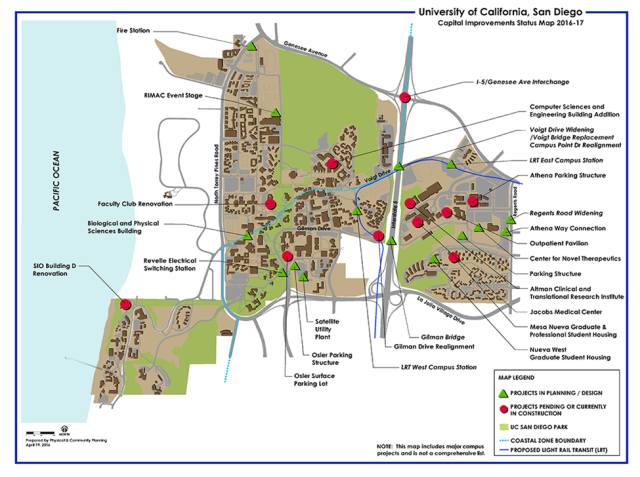 UCSD Map